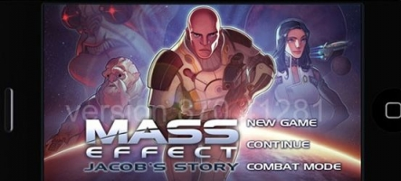 Mass Effect sur iPhone et iPod Touch