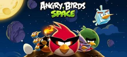 Angry Birds Space téléchargé plus de 10 millions de fois en trois jours