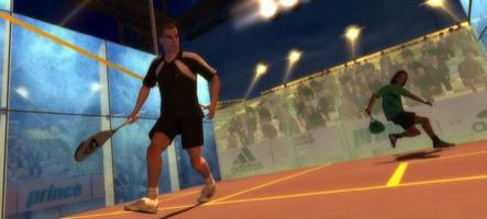 Jouez au squash sur PC et Wii