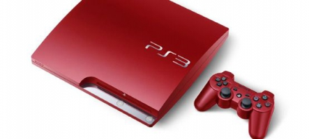 La PS3 rouge débarque en Europe