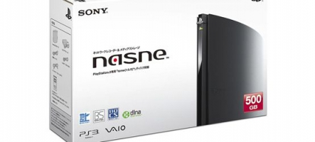 Sony Nasne : Un disque dur enregistreur pour PS3, PS Vita, PSP et Tablette