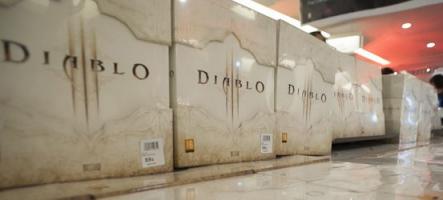 Soirée de lancement de Diablo 3 : C'était la folie sur les Champs-Elysées !