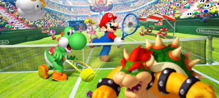 (Test) Mario Tennis Open (3DS)