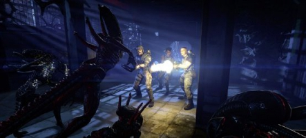 Aliens Colonial Marines s'illustre