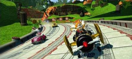 Sonic & Allstars Racing Transformed met la gomme