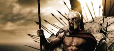 Le film 300 recréé dans Skyrim
