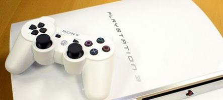 Une PS3 blanche pour juin ?