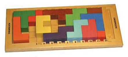(HS) Katamino, un Tetris en jeu de plateau