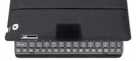 (HS) Un clavier-housse pour votre iPad signé Belkin