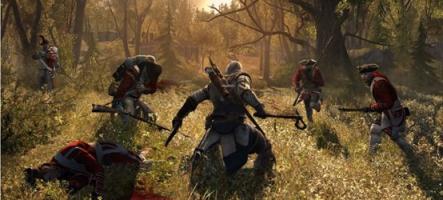 Assassin's Creed 3 : La nouvelle vidéo qui va vous faire mouiller