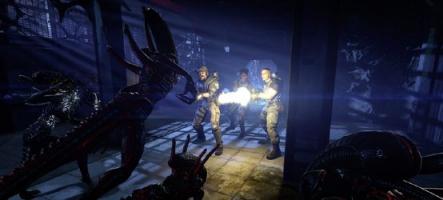 De la meuf dans Aliens Colonial Marines