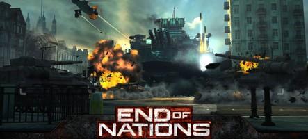 Gagnez 100 clefs pour le jeu End of Nations !