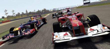 Drapeau vert pour la démo de F1 2012