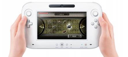 Wii U : Pas de Gamepad vendu seul avant 2013