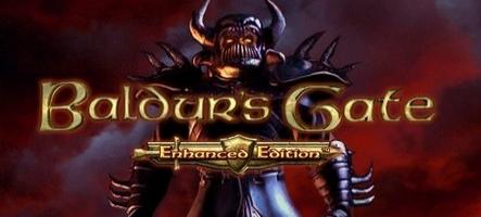 Des détails sur Baldur's Gate Enhanced Edition