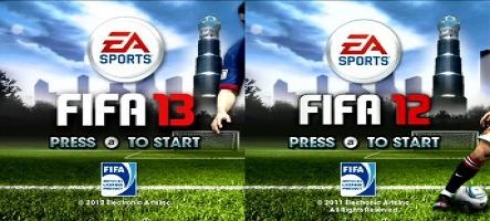 Fifa 13 sur Wii et Vita est un Fifa 12 maquillé