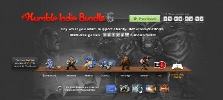 2 millions de dollars pour le Humble Indie Bundle 6