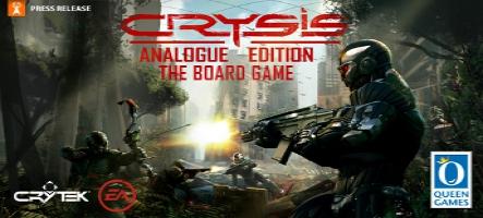 Des jeux de plateau Crysis et Bioshock