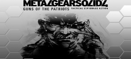 Metal Gear Solid 4 réédité