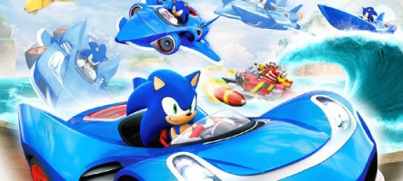 Wii U : Découvrez Sonic & All Stars Racing Transformed