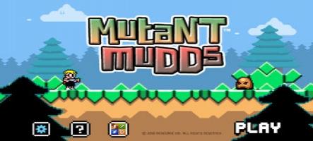 Mutant Mudds trace sa route jusqu'à la Wii U
