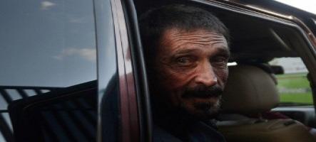John MacAfee arrêté au Guatemala pour une affaire de meurtre
