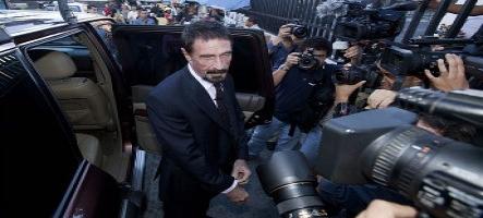 John MacAfee sera extradé au Belize