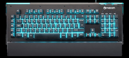 Nacon CL-510, un clavier gamer à bas prix !