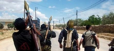 Une manette PS3 pour diriger les chars des rebelles syriens