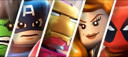 LEGO Marvel Super Heroes officialisé