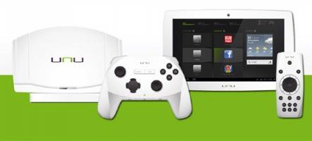 Snakebyte lance UNU, une tablette console de jeux Android