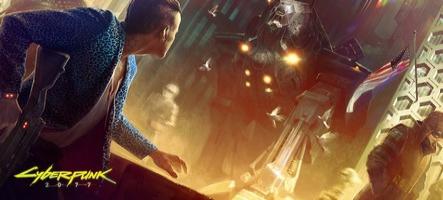 Cyberpunk 2077 : de la SF, du rock et une jolie fille dans ce premier trailer