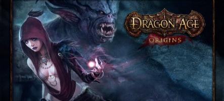 Une toute nouvelle aventure pour Dragon Age : Origins