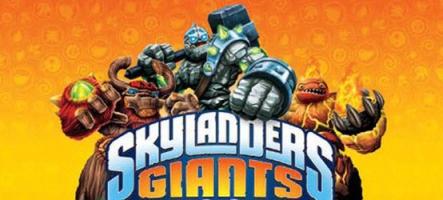 Les nouveaux Skylanders Giants sont arrivés à la rédaction