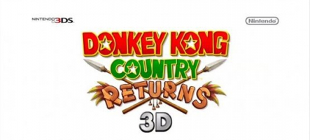 Donkey Kong Country Returns arrive sur 3DS