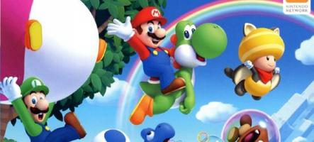 De nouveaux niveaux pour New Super Mario Bros U