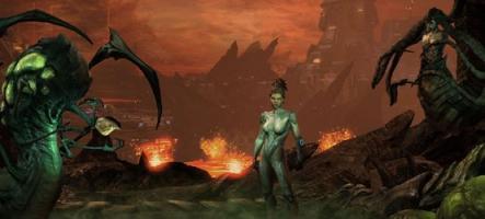 StarCraft II: Heart of the Swarm. La vidéo. Epoustouflante. Magnifique.