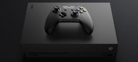 Xbox One X : une console qui... déchire !