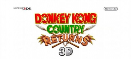 Une date pour Donkey Kong Country Returns 3D