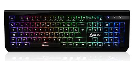 KLIM Domination, un clavier gamer vraiment pas cher et performant