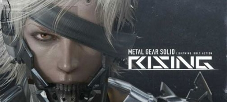 Metal Gear Solid : Rising sera multiplateforme