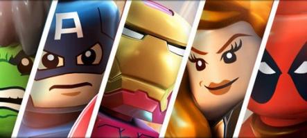 Lego Marvel Super Heroes arrive cet automne