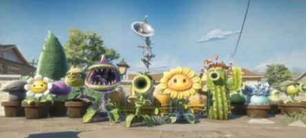 E3 : Plants vs Zombies - Garden Warfare sème une vidéo