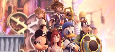 E3 : Kingdom Hearts III sur PS4 en vidéo