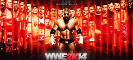 WWE 2K14 annoncé