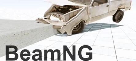 Découvrez le nouveau moteur physique de BeamNG