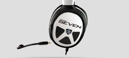 Test du Casque Turtle Beach Ear Force XP Seven (PC, Mac, Mobile, PS3, Xbox 360)