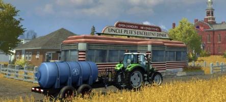 Farming Simulator 2013 : Labourée dans le pré
