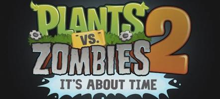 Plantes contre Zombies 2 est sorti...
