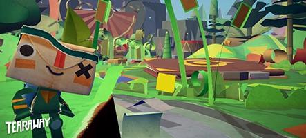 (GamesCom) Tearaway sur PS Vita - Nouveau Trailer